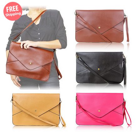 $19 for an Envelope Clutch Bag $19.00 down from $38.00