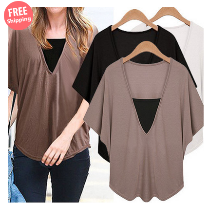 $19 for a Plus Size Short Sleeve Casual T-shirts $19.00 $49.00