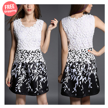 $29 for a Women's Fashion All Match Lace Dress $29.00 $69.00
