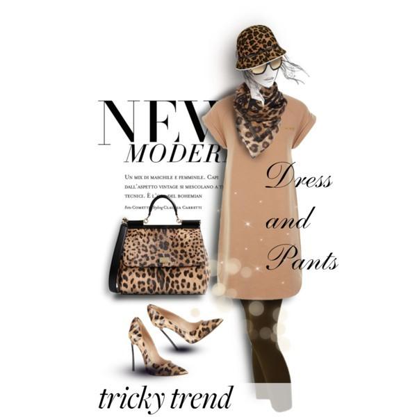 Tricky Trend: Dress andPants