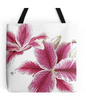 lillies tote