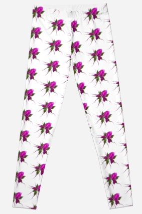 Vector Flower Leggings
