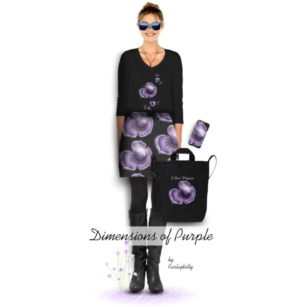 Dimensions of Purple