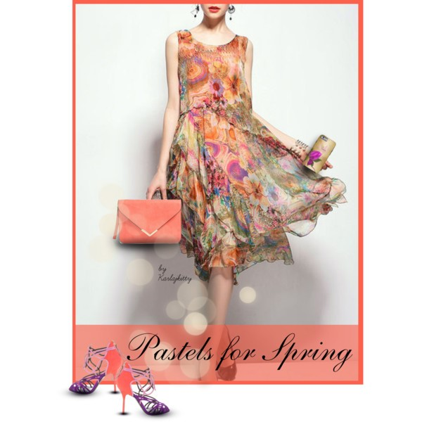 Pretty Pastel SpringDress