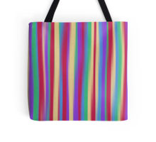 colorful stripes tote