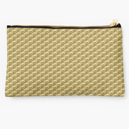 gold lace pouch
