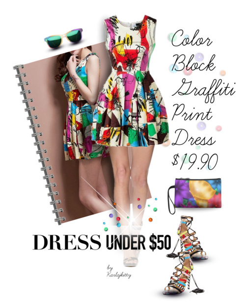 Colorful Summer Dress Under 50