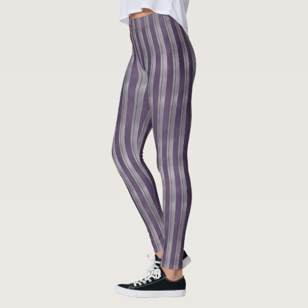 Deep Purple Lavender Stripe